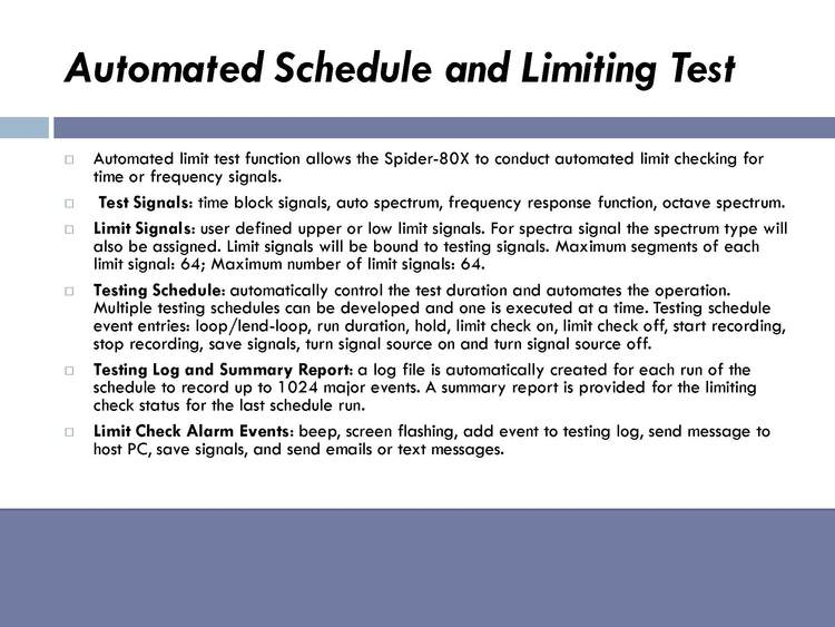 AUTOMATED PRODUCTION TESTING 7