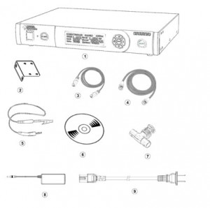 Spider-81振动控制器装箱单