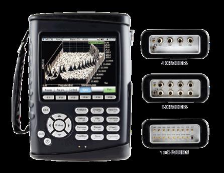 CoCo-80/90 手持一体化动态信号分析仪和记录仪特点