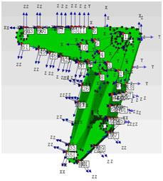 使用COCO80和Me'scopeVES进行支架零件的模态分析(一) 8