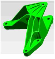 使用COCO80和Me'scopeVES进行支架零件的模态分析(一) 6