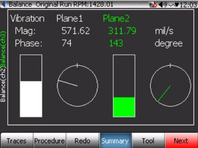 CoCo80动态信号分析仪的双面动平衡步骤(动平衡操作手册三) 6