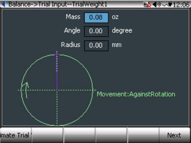 CoCo80动态信号分析仪的双面动平衡步骤(动平衡操作手册三) 7