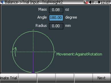 CoCo80动态信号分析仪的双面动平衡步骤(动平衡操作手册三) 9