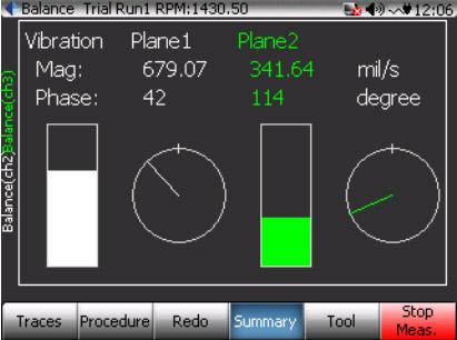 CoCo80动态信号分析仪的双面动平衡步骤(动平衡操作手册三) 10