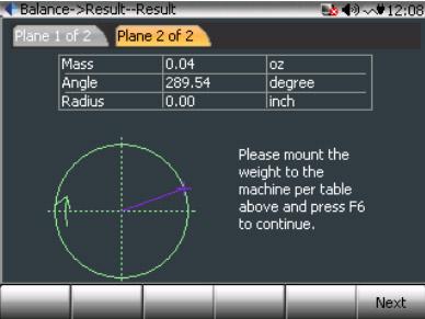 CoCo80动态信号分析仪的双面动平衡步骤(动平衡操作手册三) 12