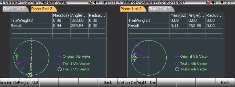 CoCo80动态信号分析仪的双面动平衡步骤(动平衡操作手册三) 15