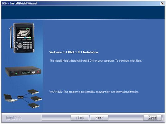 EDM工程管理软件的安装 1