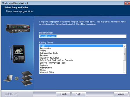 EDM工程管理软件的安装 7