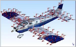 利用模态分析技术排除飞机振动故障 1
