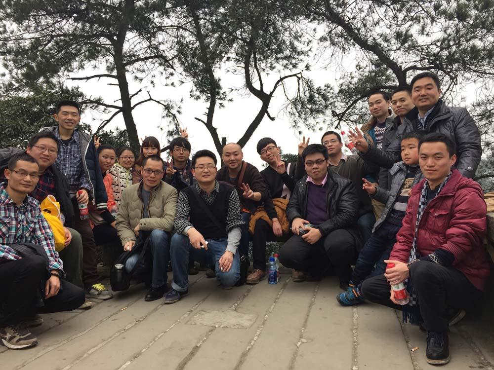 2015年锐达重庆分公司团圆饭