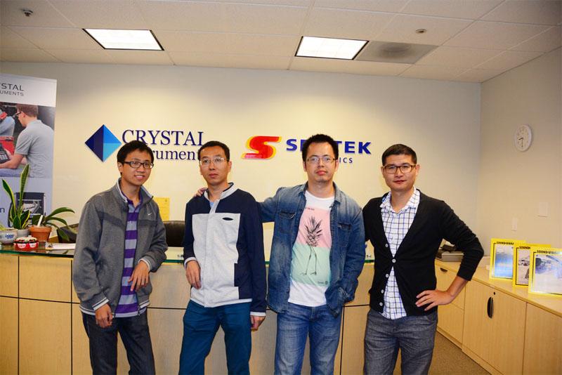2015年10月杭州锐达员工到美国晶钻仪器公司交流与学习 4