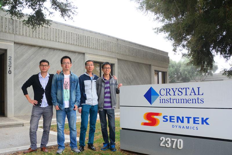 2015年10月杭州锐达员工到美国晶钻仪器公司交流与学习 2