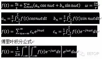 分享:傅立叶变换、拉普拉斯变换、Z变换最全攻略 1