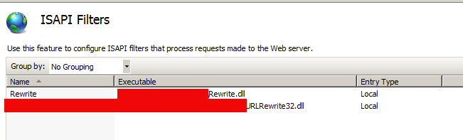 Win2008服务IIS 7.5配置rewrite伪静态解决方案 2