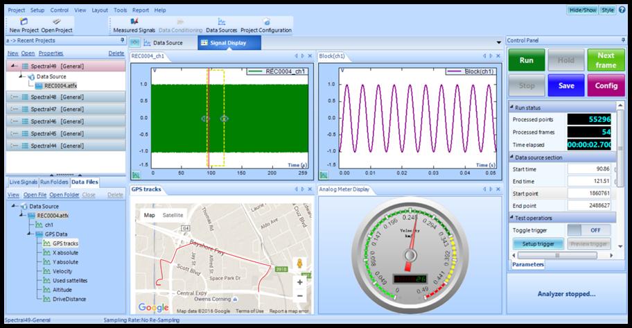 GPS的特点—CoCo-80X动态信号分析仪新功能 6