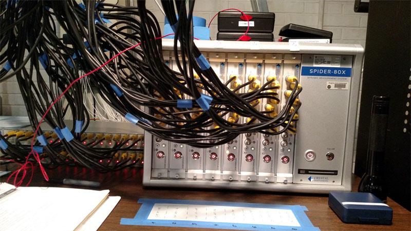 美国宇航局 NASA 使用晶钻仪器生产的Spider-80X 高通道动态数采系统于环境测试 4