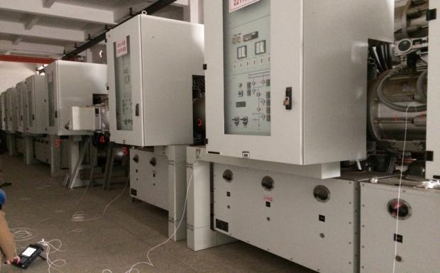 天津电科院使用CoCo-80振动测试巡检仪对GIS进行振动检测与报告分析(一) 11