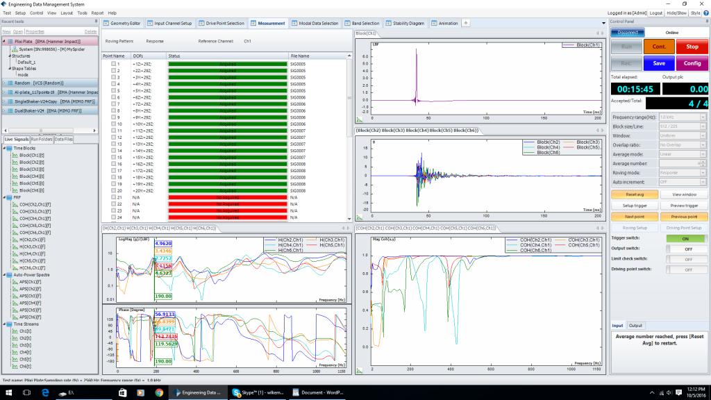 试验模态分析EMA技术-力锤激励和激振器激励的区别