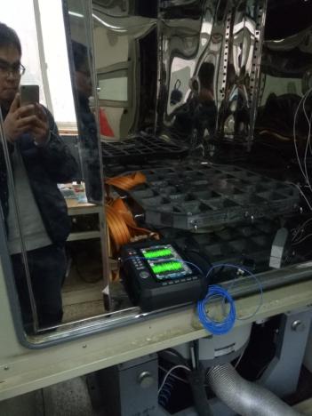 天津某大学使用动态数据采集仪CoCo-80X做路谱仿真测试 1