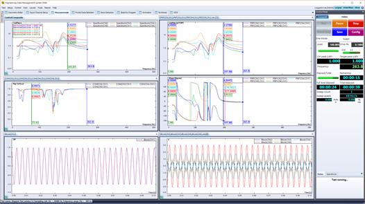 模态分析软件EDM Modal-SIMO正弦扫频测试(SIMO Swept Sine Testing)