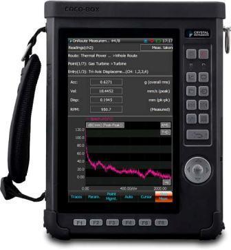 CoCo-80X手持式振动数据采集仪 1