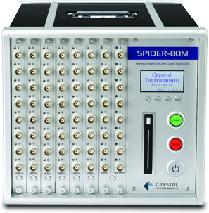 Spider-80M MIMO振动控制器 多轴控制器 多输入多输出控制仪器 1