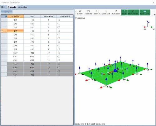 动态信号分析功能振动可视化操作方法 3