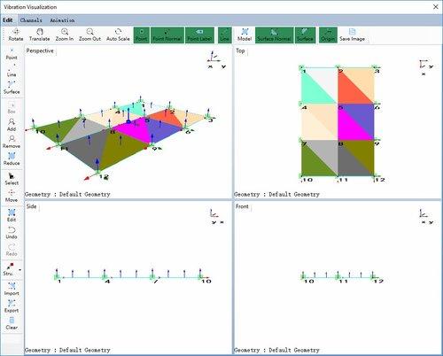 动态信号分析功能振动可视化操作方法 2