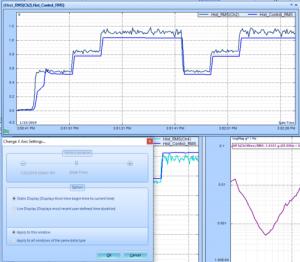查看振动控制软件(VCS)中的统计时程信号 3
