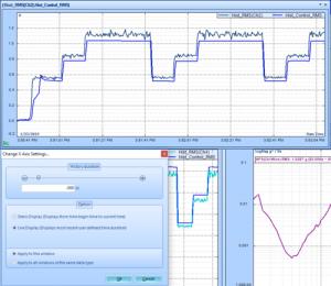 查看振动控制软件(VCS)中的统计时程信号 4