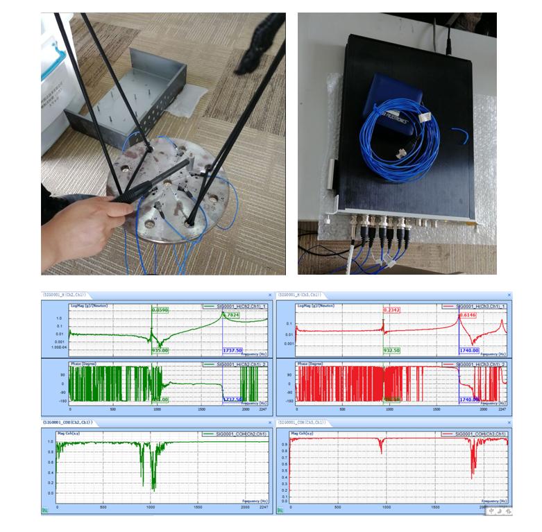 机械零部件刹车盘振动测试固有频率解决方案 2