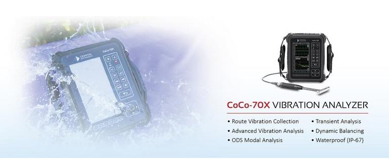 CoCo70X振动分析仪介绍 1
