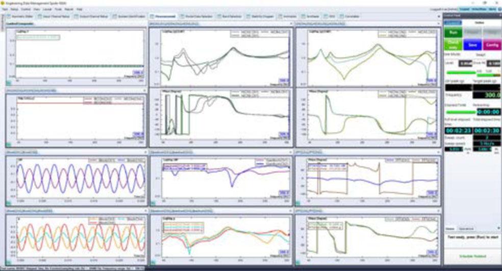 MIMO扫频正弦模态测试 2