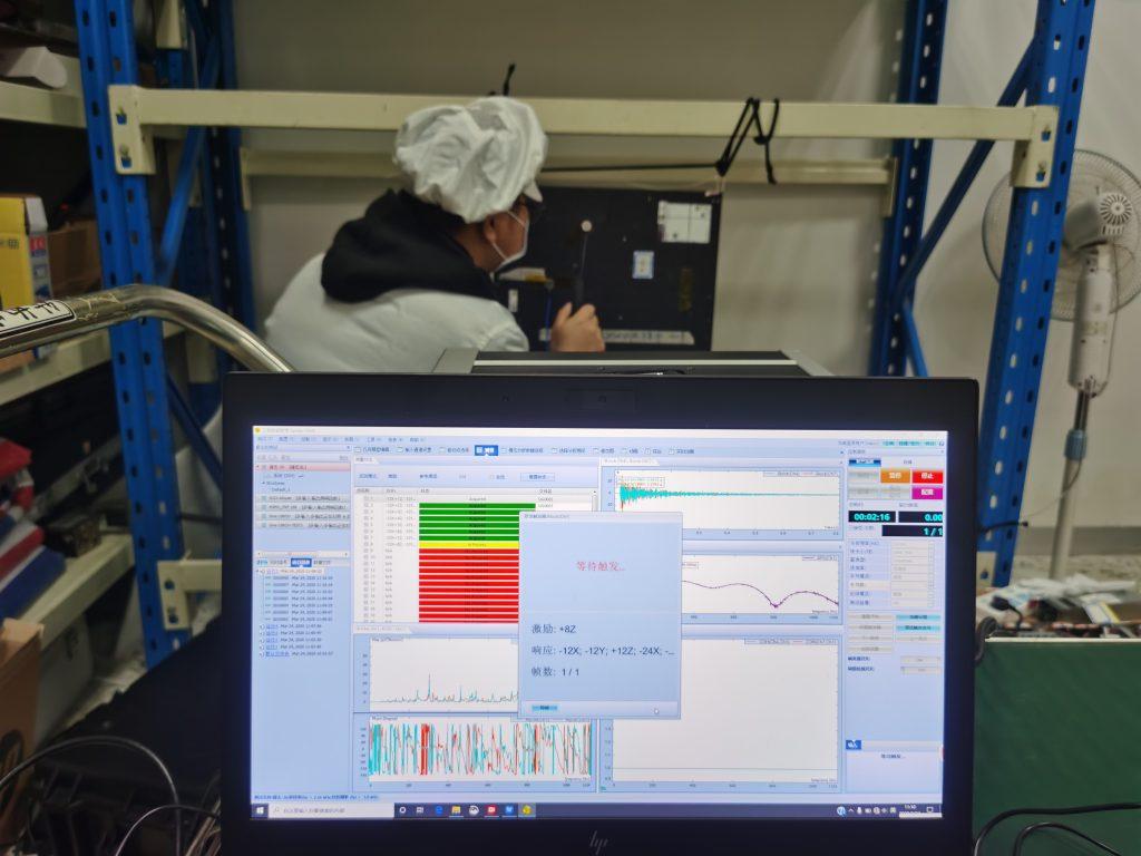 198通道数锤击法与激振器法模态试验 1