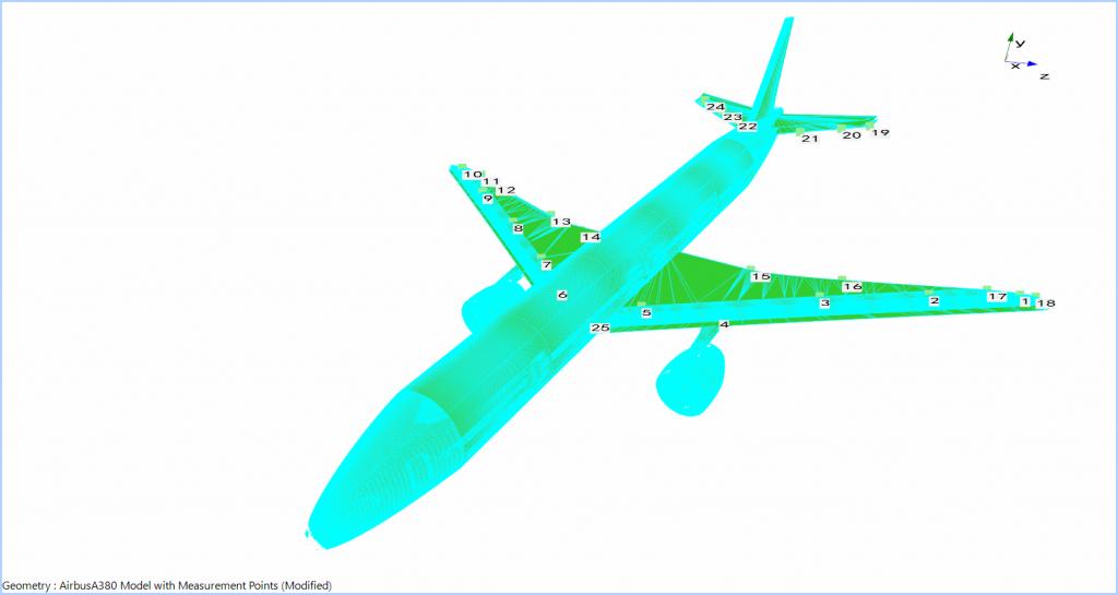 飞机模型模态实验分析与模态参数识别 2