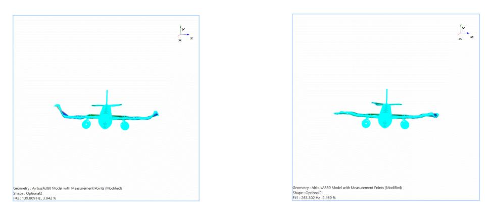 飞机模型模态实验分析与模态参数识别 10