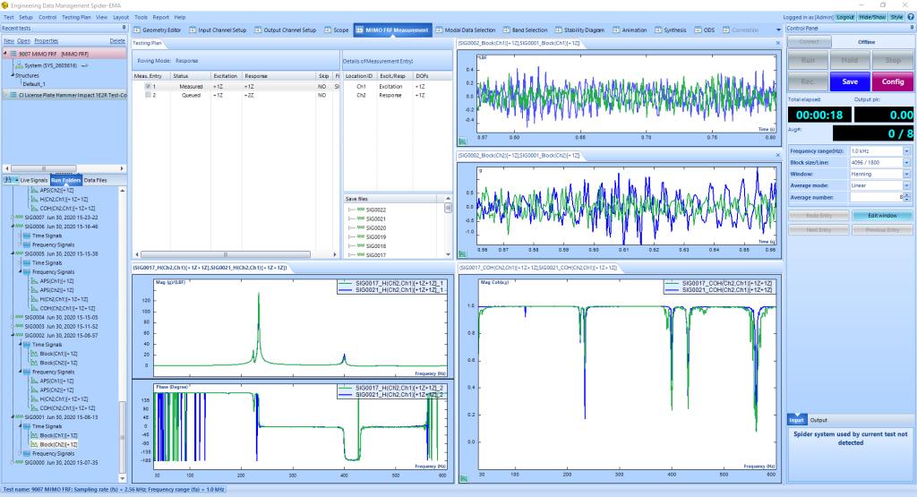 MIMO FRF模态试验中的形随机和突发随机激励 10