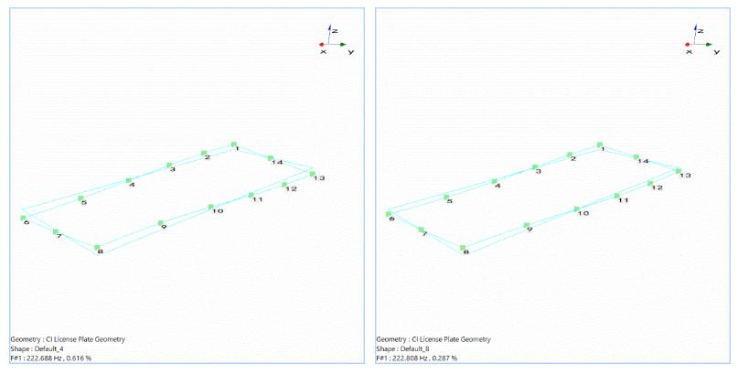 模态分析中常规FFT和使用多分辨率频谱技术FFT的比较 14
