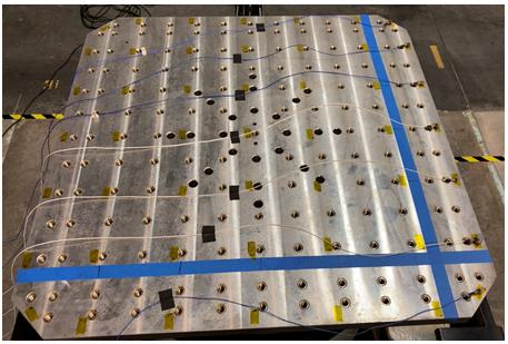 振动台扩展头的模态试验分析 3