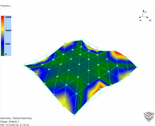 振动台扩展头的模态试验分析 7