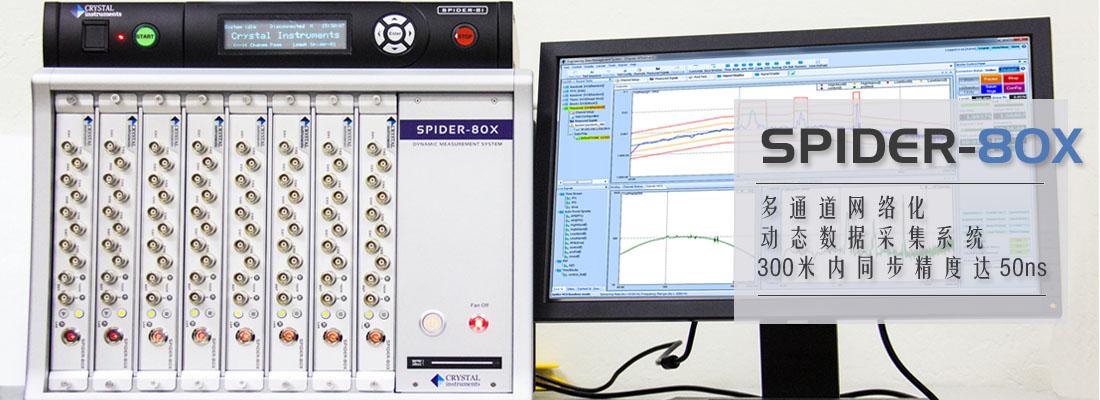 Spider80x动态数据采集系统