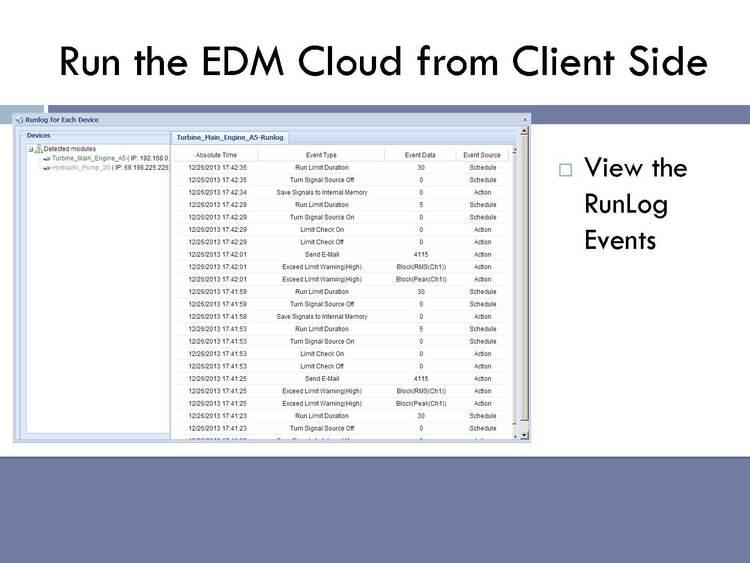 EDM-Cloud 远程监控平台 28