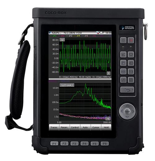 CoCo80X手持式动态信号分析仪、频谱分析仪与数据采集仪 3